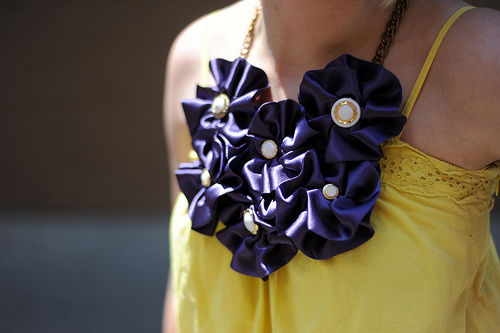 Rosette Necklace Giveaway Winner Announced!