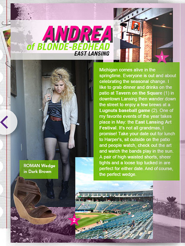 Guest Editor and featured in Blowfish Shoes' E-Zine!