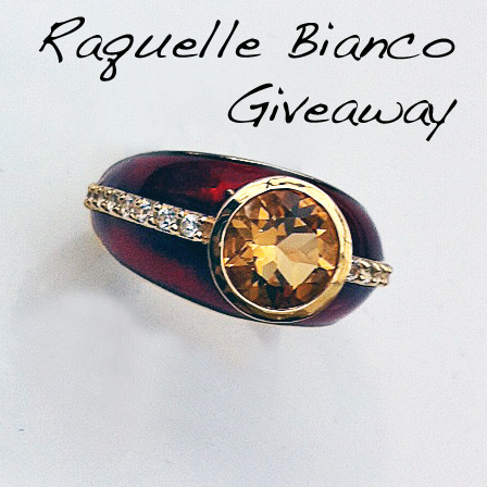 Raquelle Bianco Ring Giveaway!