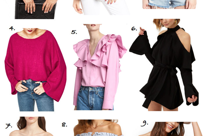 Trend Watch: Ruffles and Pretty Sleeves